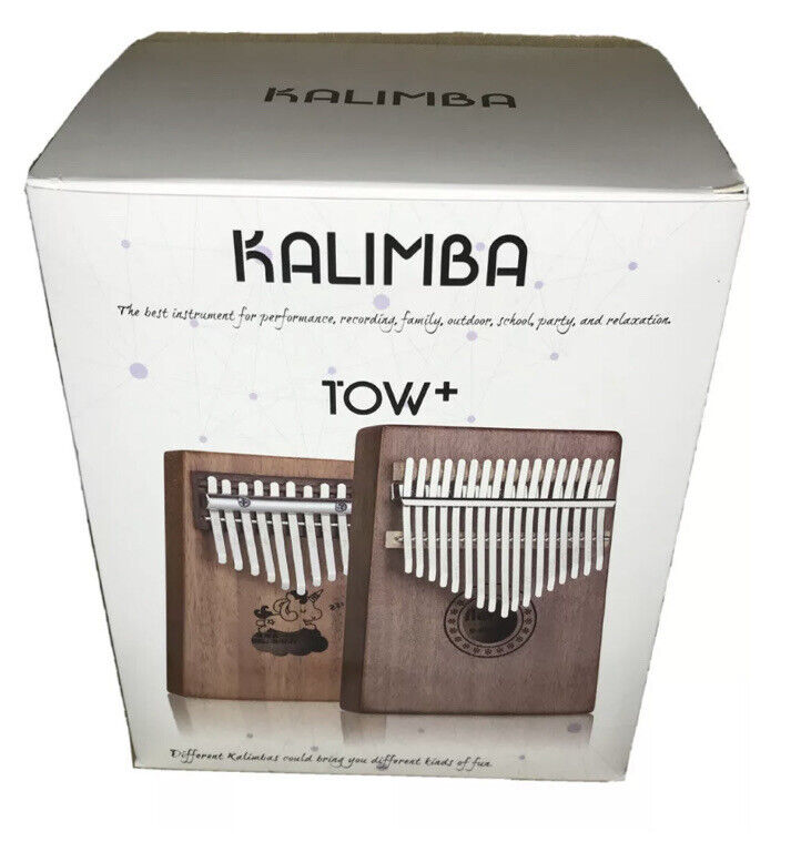 Scorina Kalimba 17&10 Two Pack Kalimba Thumb Piano w/ Study Instruction