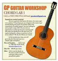 Group Guitar Workshop!