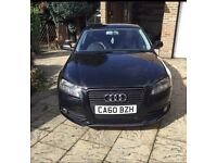 Audi A3 S line rep £30year road tax (CAT D) repaired