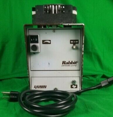 Rainin Rabbit Peristaltic Pump Whith 2 Channel Head Tested And Working