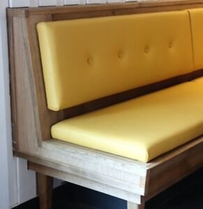 Booths Benches Chairs Bar Design + Build for Restaurants