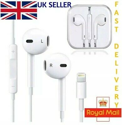 For Apple iPhone 7/8/X/XS Max Lightning  Genuine Headphones Bluetooth EarPhones