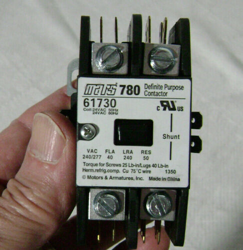 Mars 780 Definite Purpose Contactor 61730 Power Poles: