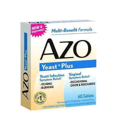 AZO Yeast Tablets 60 Tablets
