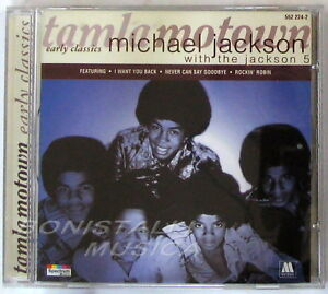 MICHAEL-JACKSON-WITH-THE-JACKSON-5-The-Early-Classics-CD-Nuovo-Unplayed