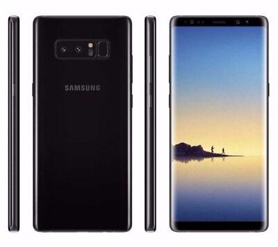 Unlocked Samsung Galaxy Note8 SM-N950U 64GB (AT&T TMobile) Black Phone...
