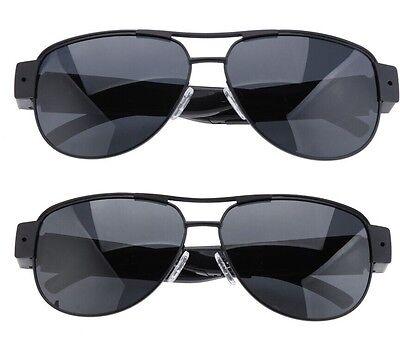 Full HD 1080P Glasses Spy Hidden Camera Sunglasses Eyewear DVR DV Video Recorder