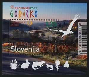 Slovenia-947-MI965-MNH-Goricko-Regional-Park-Birds-Animals
