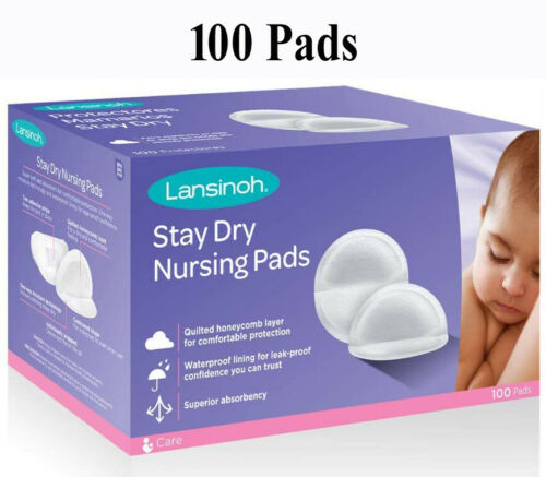 Nursing Pads Lansinoh Stay Dry Disposable (100 pads)