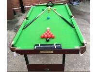 4 ft 6 snooker /pool table
