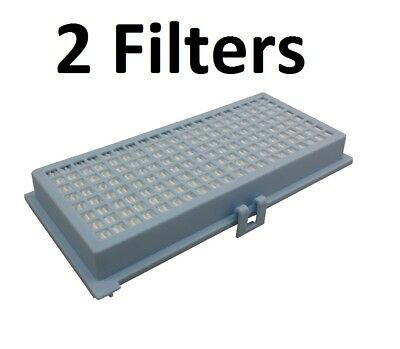 (2) Canister Vacuum HEPA Charcoal Filter for Miele S300 S400 S500 S600