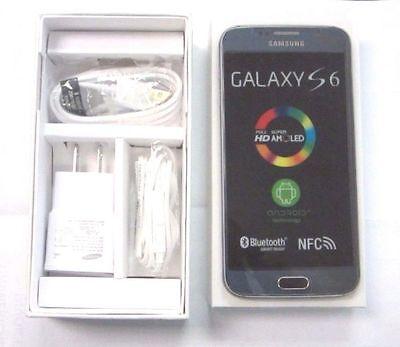 NEW Samsung Galaxy S6 SM-G920V - 32GB - Black Sapphire (Verizon) Smartphone