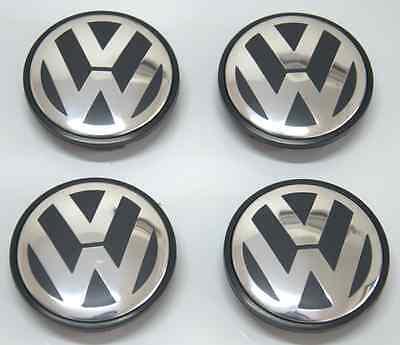 4x Wheel Center Cap Hub Fits VW Jetta Golf Passat Beetle Tiguan CC 3B7601171