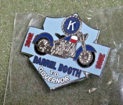 Kiwanis International Booth To Governor Lapel Pin Motorcycle ? Harley Davidson