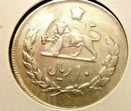 1974 10 Rial Coin AU