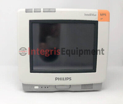 Philips IntelliVue MP5 Patient Monitor ECG, SpO2, NiBP - Refurbished
