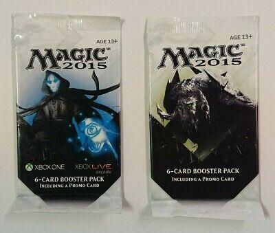 2 Magic 2015 (M15) Promo Booster Packs, Sealed