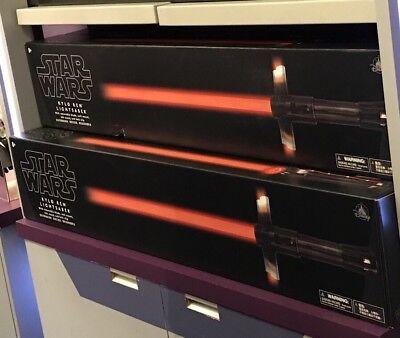 New Disney Parks Exclusive Star Wars Kylo Ren Lightsaber w Removable Blade