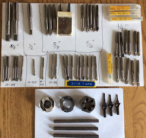 Tap and Die Components $50 or best offer