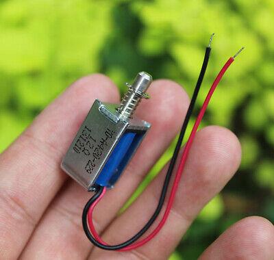 Micro Solenoid Valve Dc Electromagnet Dc 6v-12v 9v Push Pull Suction Rod Magnets