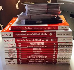 Complete & Unused Manhattan Prep GMAT Set (over $383 Value)