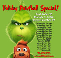 Holiday Hours at Flag Raiders Paintball