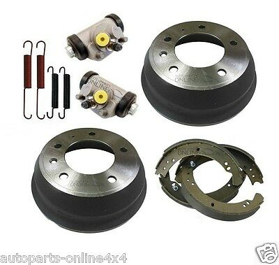 LAND ROVER SERIES 3 SWB & 90 -REAR BRAKE KIT-DRUMS, CYLS, SHOES & SPRINGS, BSK01