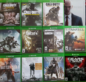 XBOX One Shooter Games (Various Prices)