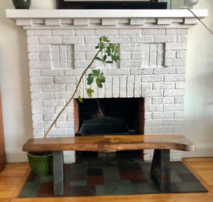 Live edge bench / table / console table / seating / area piece