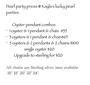 KAYLAS LUCKY PEARL PARTIES