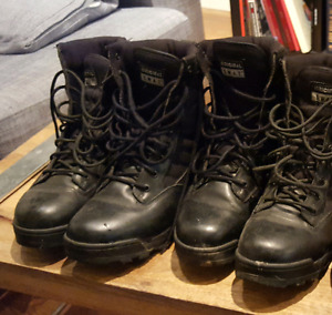 Two Pairs of SWAT Combat Boots for Sale - size 10.5