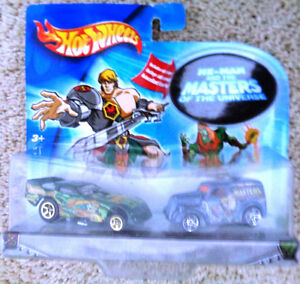 Hw He Man & Masters of the Universe Anglia & Funny Car Dragster