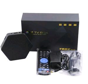 Android Smart TV Box w/ Wireless Keyboard -4K, 8-Core 64 Bit CPU
