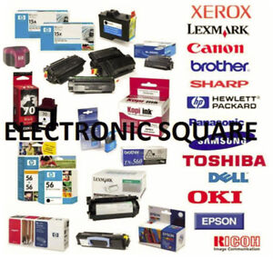 we sell ink for ink jet and lazer printers