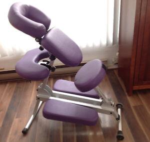 Chaise de massage - transport facile