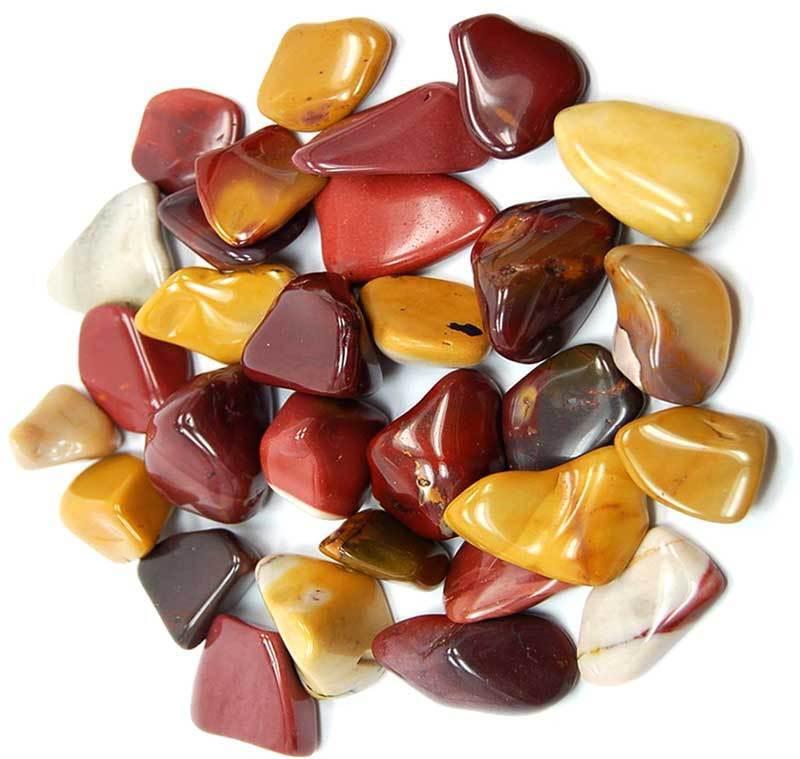 Bulk 1 lb Mookaite Jasper Tumbled Stones Gemstones Chakra Reiki Crystal Healing
