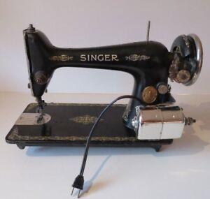 Machine à coudre Singer - vintage