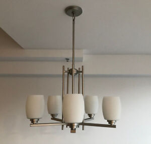 Eileen 5-bulb Dimmable Chandelier / Dining Light by Kichler
