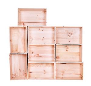 Caisses de bois - boites en bois