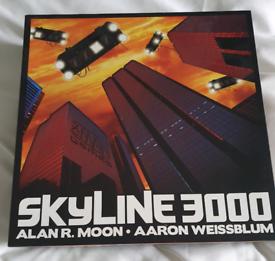 Skyline 3000 boardgame