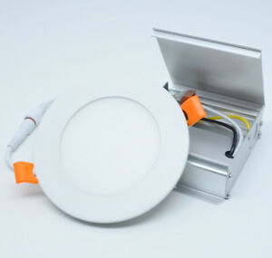 New Slim LED Pot lights 4 inch 10w, Dimmable, with Junction Box