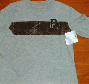 Roots ~ Boys Size 5T Long Sleeve Top ~ BNWT