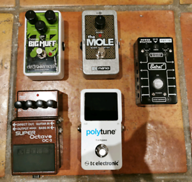 Guitar / Bass Effects Pedals
