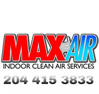 MAXAIR'S HIGH QUALITY DUCT CLEANING NEW YEARS' SPECIAL!!!