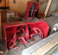 """38 """"Two Stage Snowblower for Honda 3813 Tractor.(Front PTO)"""