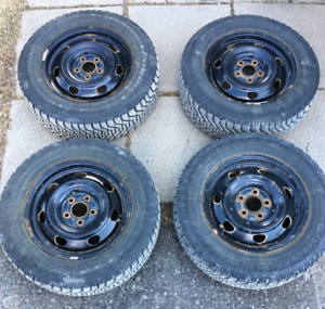 4 215/65R16 winters and rims off of an 07 caravan