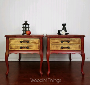 Lucky Dragon End Tables