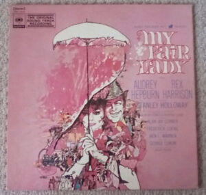 60's My Fair Lady Soundtrack vinyl record