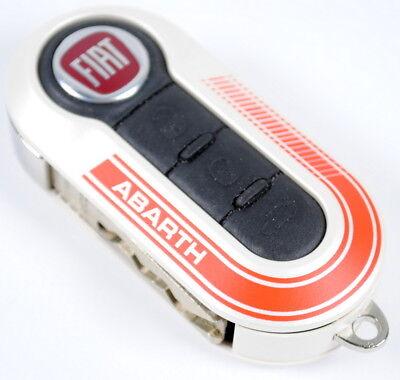 Genuine OE 735527598 Key Cover Ferrari Red Fiat Abarth