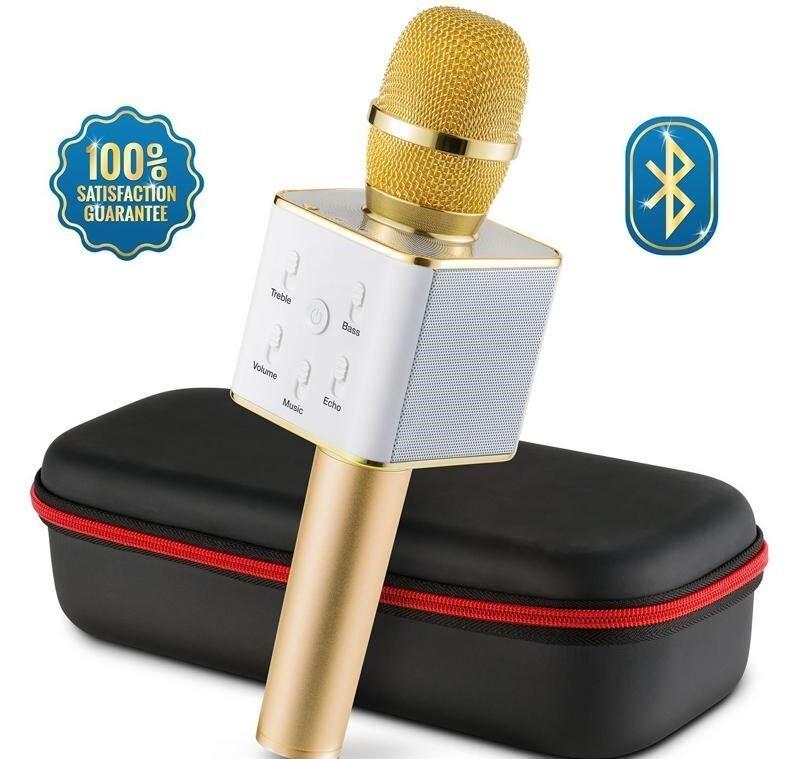 Microphone Bluetooth Wireless Professional Micro USB Karaoke Phone Podcast Lives